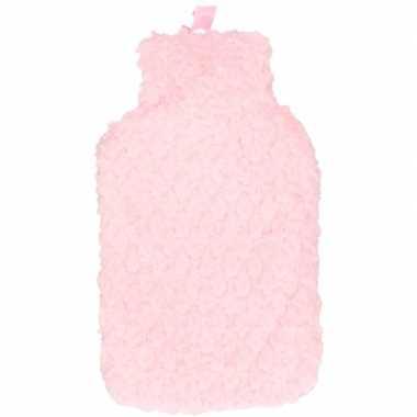 Goedkope kruik roze pluche hoes liter