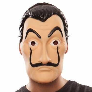 Goedkope la casa papel overvaller masker salvador dali