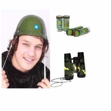 Goedkope leger accessoires verkleedset kinderen
