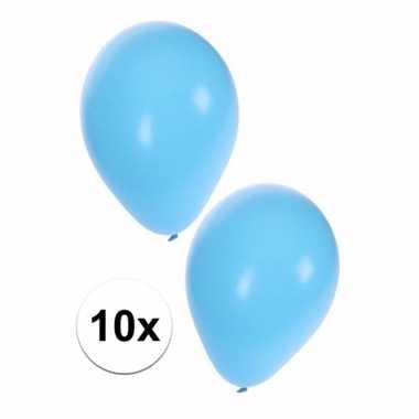 Goedkope lichtblauwe ballonnen 10095466