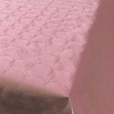 Goedkope lichtroze papieren tafellaken/tafelkleed rol