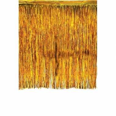 Goedkope luxe goud deurgordijn