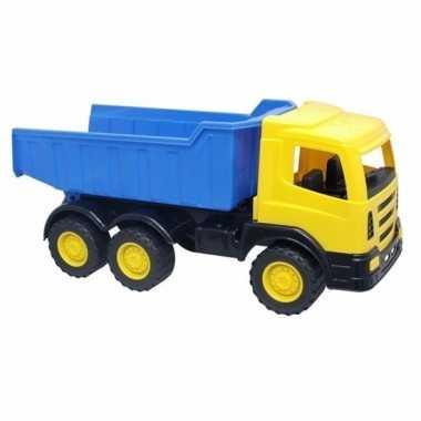 Goedkope luxe grote kiepwagen geel