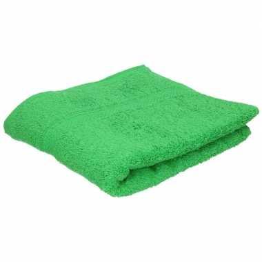 Goedkope luxe handdoek groen grams