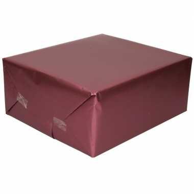 Goedkope luxe inpakpapier/cadeaupapier paars zijdeglans