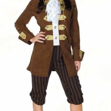Goedkope luxe piratenpak dames