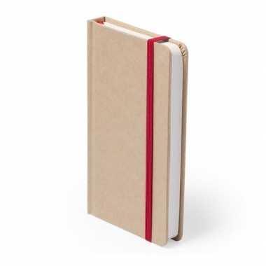 Goedkope luxe schrift rood elastiek a formaat