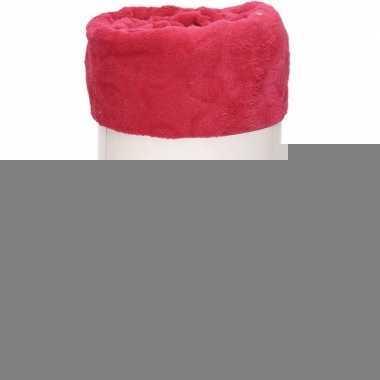 Goedkope magenta roze sterren fleece deken