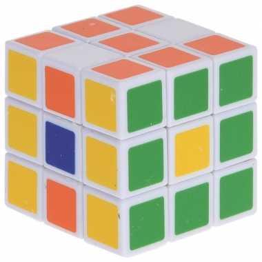 Goedkope magische kubus puzzel spelletje speelgoed