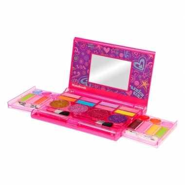 Goedkope make up set roze doosje meisjes
