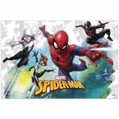Goedkope marvel spiderman themafeest tafelkleed/tafelzeil