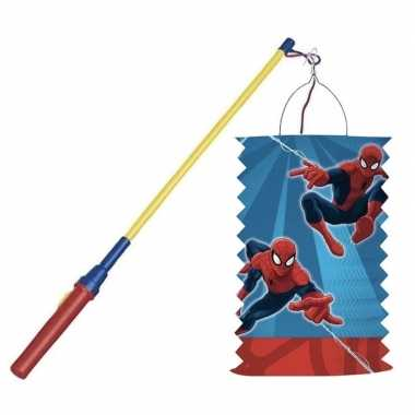 Goedkope marvel spiderman treklampion lampionstokje