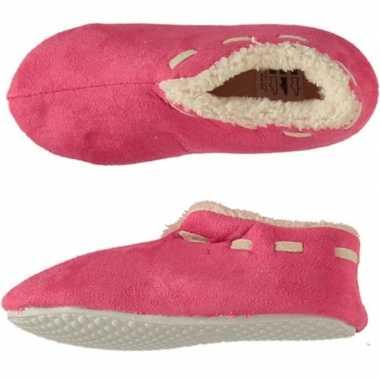 Goedkope meisjes spaanse sloffen/pantoffels roze maat