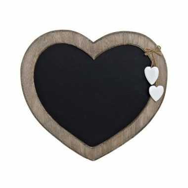 Goedkope memo krijtbord hart vorm