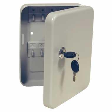 Goedkope metalen sleutelbox/sleutelkastje haakjes