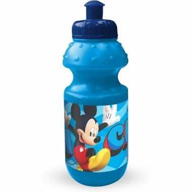 Goedkope mickey mouse pop up drinkbeker blauw