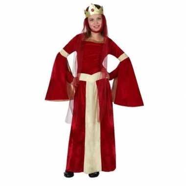 Goedkope middeleeuwse prinses/koningin eleanor meisjes