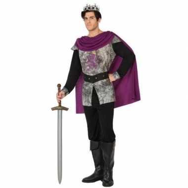 Goedkope middeleeuwse ridder/koning verkleed kostuum heren