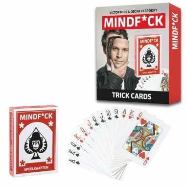 Goedkope mindfuck magie kaartspel illusies kinderen