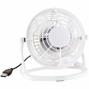 Goedkope mini ventilator wit usb