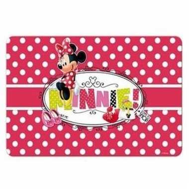 Goedkope minnie mouse d placemat stippen