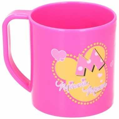 Goedkope minnie mouse mok roze