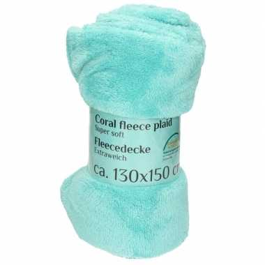 Goedkope mint fleece deken