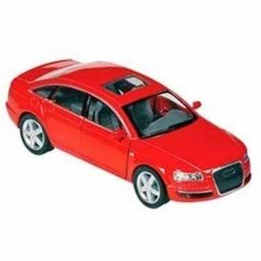 Goedkope modelauto audi a rood :
