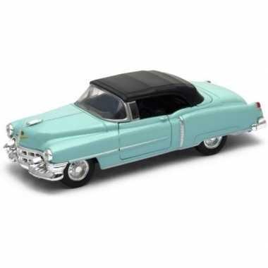 Goedkope modelauto cadillac eldorado groen gesloten cabrio :