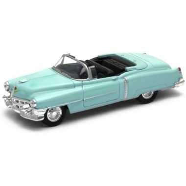 Goedkope modelauto cadillac eldorado groen open cabrio :