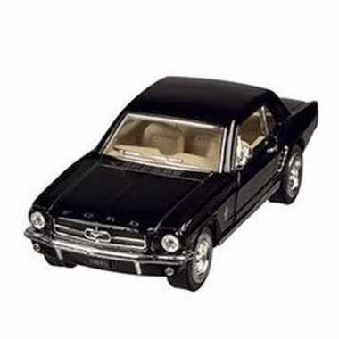 Goedkope modelauto ford mustang zwart