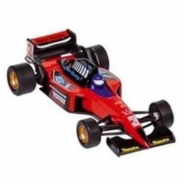 Goedkope modelauto formule wagen rood