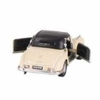 Goedkope modelauto mercedes benz s auto creme ,