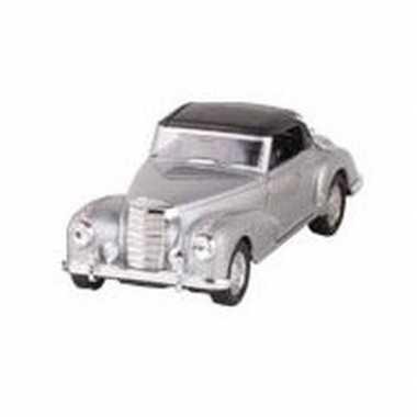 Goedkope modelauto mercedes benz s auto zilver ,