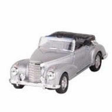Goedkope modelauto mercedes benz s cabrio zilver ,