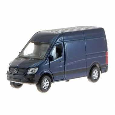 Modelauto mercedes benz sgoedkopeer blauw :