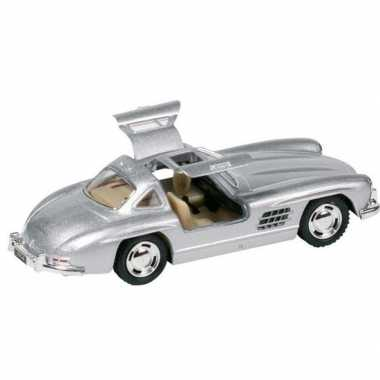 Goedkope modelauto mercedes benz sl auto zilver ,