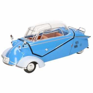 Goedkope modelauto messerschmitt kr blauw