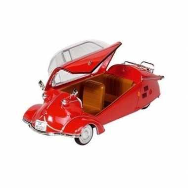 Goedkope modelauto messerschmitt kr rood