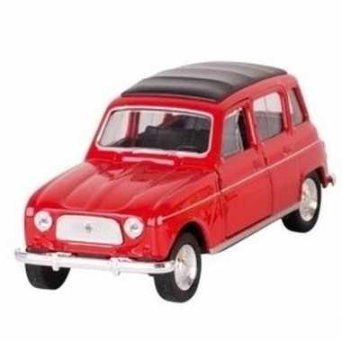 Goedkope modelauto renault rood
