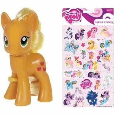 Goedkope my little pony speelfiguur applejack stickers
