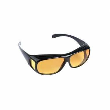 Goedkope nachtzicht bril zwart volwassenen