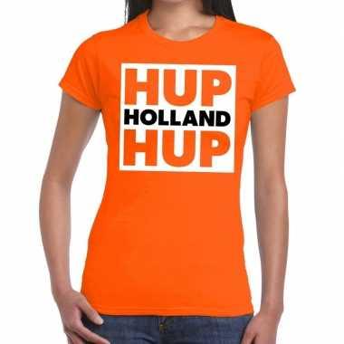 Goedkope nederlands elftal supporter shirt hup holland hup oranje da