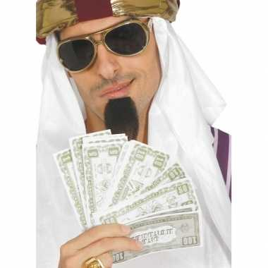 Goedkope nep dollars verkleedaccessoires biljetten