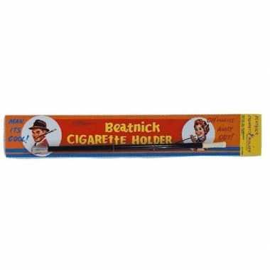 Goedkope nep sigaretten houder zwart