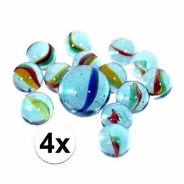 Goedkope netjes glazen gekleurde knikkers