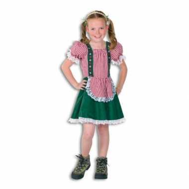 Goedkope oktoberfest tiroler jurkje kinderen