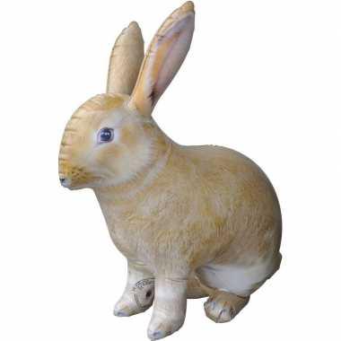 Goedkope opblaasbaar konijn/haas decoratie/speelgoed