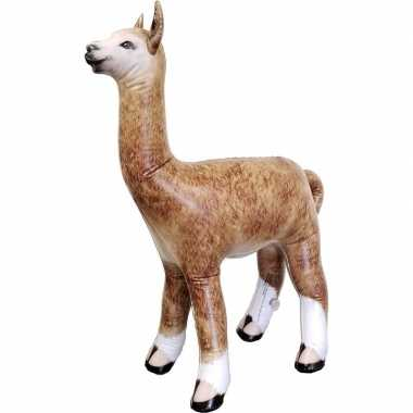 Goedkope opblaasbare alpaca/lama decoratie/speelgoed