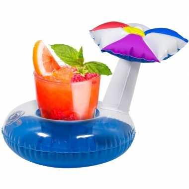 Goedkope opblaasbare drankhouder parasol
